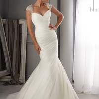 Blu by Mori Lee 5270 Mermaid Wedding Dress
