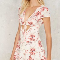 Bouquet All Day Plunging Romper