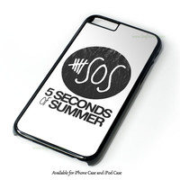 5 Seconds Of Summer Collage Design for iPhone and iPod Touch Case