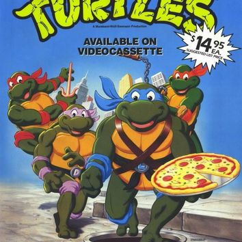 Teenage Mutant Ninja Turtles 11x17 Movie Poster (1989)