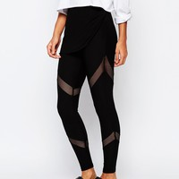 South Beach Fishnet Mesh Legging