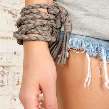 Show The Ropes Belt-Taupe