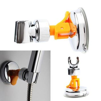 DCCKL72 New Adjustable Attachable Rotatable Chromed Shower Head Holder with Suction Bracket #67264