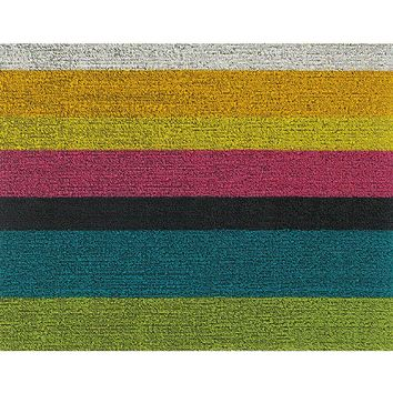Chilewich Indoor/Outdoor Shag Rug Bold Stripe