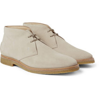 Tod's No_Code Crepe-Sole Suede Desert Boots | MR PORTER