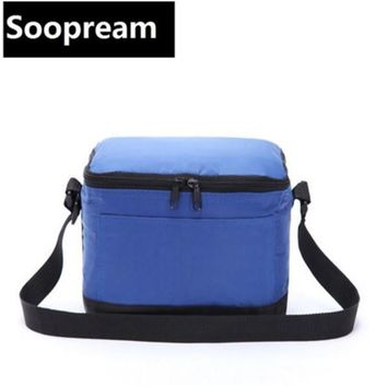 small cooler bag insulated cool handbags picnic ice pack thermo lunch box food milk fresh insulation bag