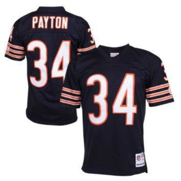 PEAPYD9 Nike Bears #34 Walter Payton Navy Blue Team Color Men's Stitched NFL Limited Jersey