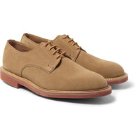 Mark McNairy - Contrast-Sole Suede Derby Shoes | MR PORTER