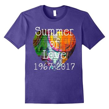 Summer of Love T-Shirt Hippie Flower Child 1967 Tee Shirt