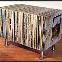 Album Side Table - The Awesomer
