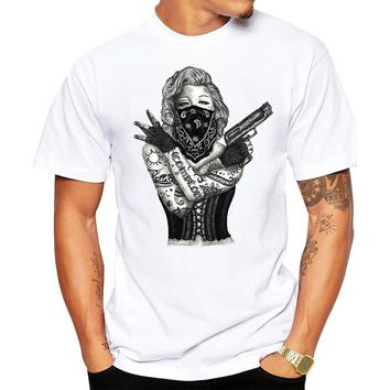 Gangster Marilyn Monroe T-shirt