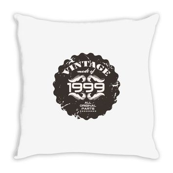 vintage made of 1999 all original parts Throw Pillow