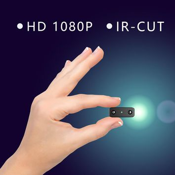 Smallest Mini Camera 1080P Full HD Camcorder Infrared Night Vision Micro Cam Motion Detection Spycam