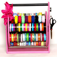 Ribbon  Storage Caddy- The Carry Caddy- Patt-end is pending on all caddy's