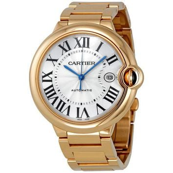 Cartier Ballon Bleu Large Mens Watch W69006Z2