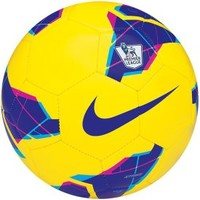Nike Strike PL High Visibility Soccer Ball - Yellow/Purple - Dick's Sporting Goods