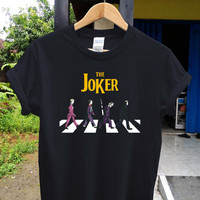 The joker abbey t shirt The joker shirt , game shirt, potograph printed style shirt, digital shirt unisex adult