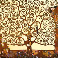 Gustav Klimt Tree of Life Poster 24x36