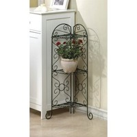 Zingz and Thingz Corner Plant Stand - Walmart.com
