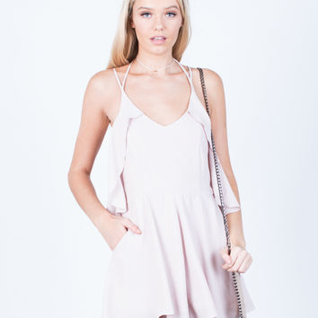 Ruffle Around Me Romper