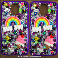 Phone Case -- GALAXY S5 -- Yummy Rainbow Kawaii Confetti