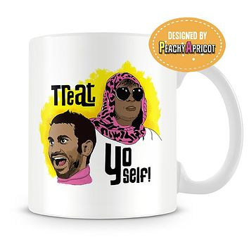 Colorful Treat Yo Self Mug