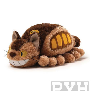 Studio Ghibli - My Neighbor Totoro Fluffy Cat Bus Plush - 5-Inch Plush