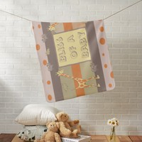 Savage Safari Bliss of a Baby Baby Blanket