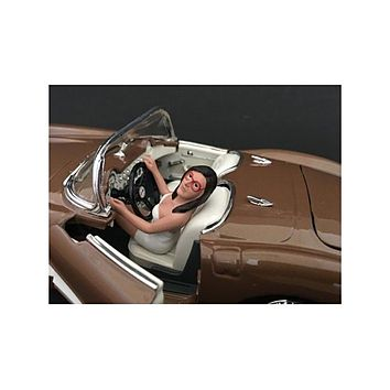 Female Driving Figure For 1:24 Scale Models by American Diorama