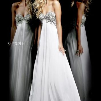 Sherri Hill Prom Dress 3903 at Peaches Boutique