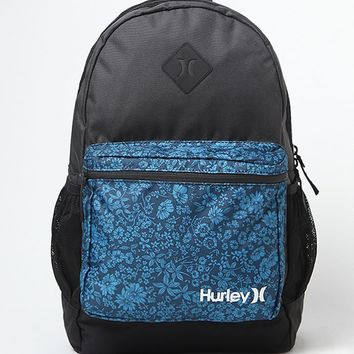 Hurley Mater Print School Backpack - Mens Backpacks - Black - NOSZ