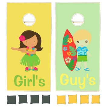 Girls and Guys Cornhole Set
