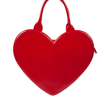 Big Heart Bag in Red