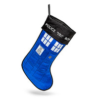 Doctor Who TARDIS Stocking with Sound - Exclusive
