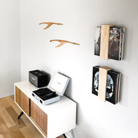 Floating Vinyl Record Shelf