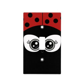"""Cute Ladybug"" LIGHT SWITCH COVER"