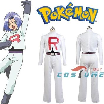 Team Rocket  Kojirou kojiro Cosplay Costume For Men Anime Halloween CostumeKawaii Pokemon go  AT_89_9