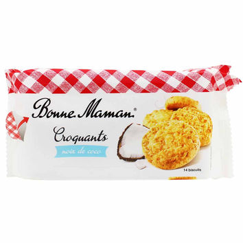 Bonne Maman French Coconut Croquants Cookies 5.3 oz
