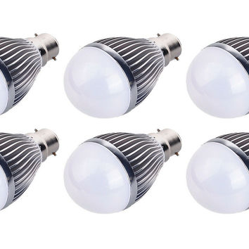 3 Watt DC 12V-24V Farm LED Lamp For Cabin Shed Light Bulb Battery B22 - 6 Pack
