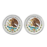 Mexico* Coat of Arms Cufflinks
