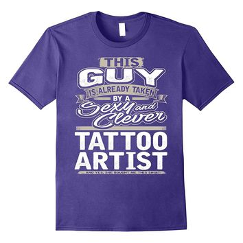 Tattoo Artist Shirt Gift For Boyfriend Husband Fiance 1