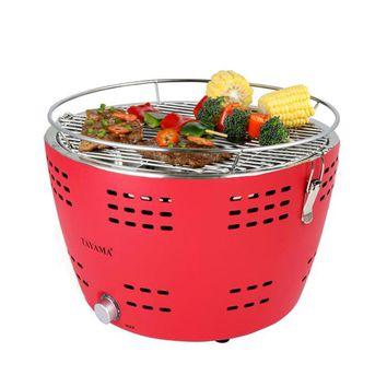 Tayama Portable Charcoal Grill - Red (TYQ-001)