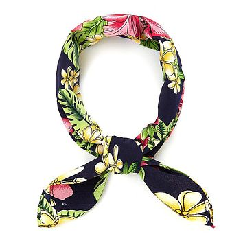 Tropical Bandana Scarf