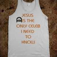 Jesus Is The Only Celeb I Need To Know Tank
