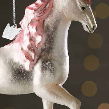 Glitter Unicorn Ornament - Urban Outfitters
