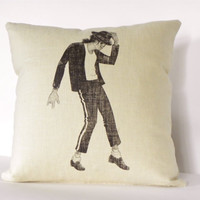 Michael Jackson Decorative Throw Pillow, Throw Pillow, Cushion Cover, Modern Pillow, 16 x 16 Pillow Cover, Accent Pillow