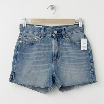 NWT GAP 1969 High Rise Cut Off Denim Shorts, Size 30