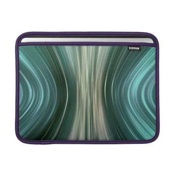 Glacier Futuristic Driving Macbook Air Sleeve