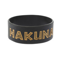 Disney The Lion King Hakuna Matata Rubber Bracelet | Hot Topic