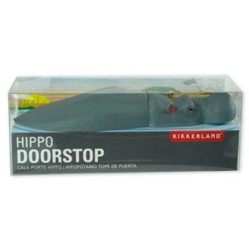 Kikkerland Hippo Doorstop (Available in a pack of 12)